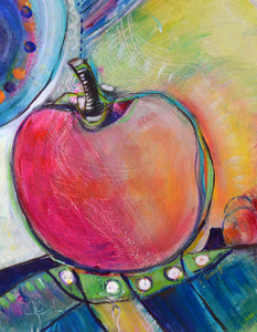 Fruit and Vegetable Reverie 1 by Sharon Zeugin