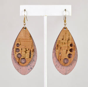 Ellipse Earrings (Champagne) by Elisabetta Studio