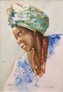Yoraba Lady by Kathleen Stafford