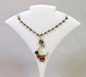 Signature Wrapped Necklace by Anna Balkan