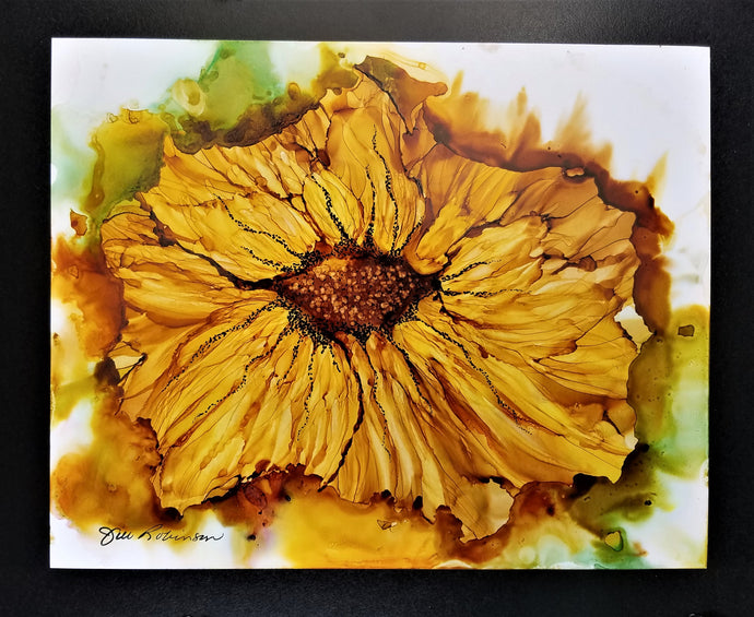 Ethereal Sunflower by Jill Robinson