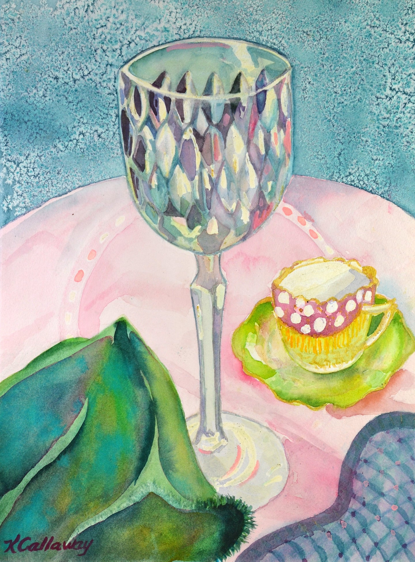 Wine or Tea? by Kathy Callaway