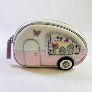 Sweetie Caravan Zipped Coin Purse by Vendula of London