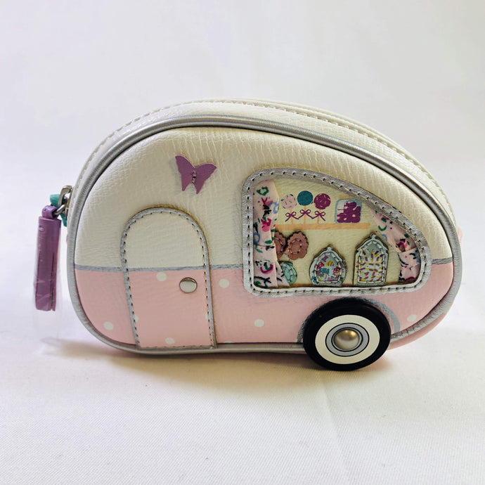 ve108  Sweetie Caravan Zipped Coin Purse by Vendula of London