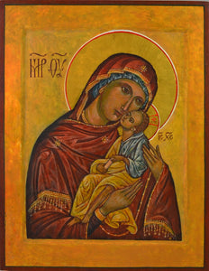 Mother of God of Tenderness painting by Frank Weir
