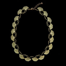 Load image into Gallery viewer, Gingko Tailored Contour Necklace  by Michael Michaud