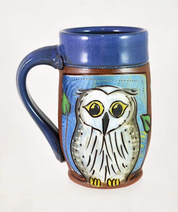 Owl Mug by Jennifer Stas Pottery