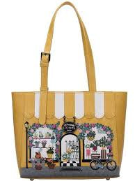 Flower Shop Handbag by Vendula of London