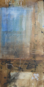 Ghost Ranch Series C Mixed Media by Sharon Zeugin