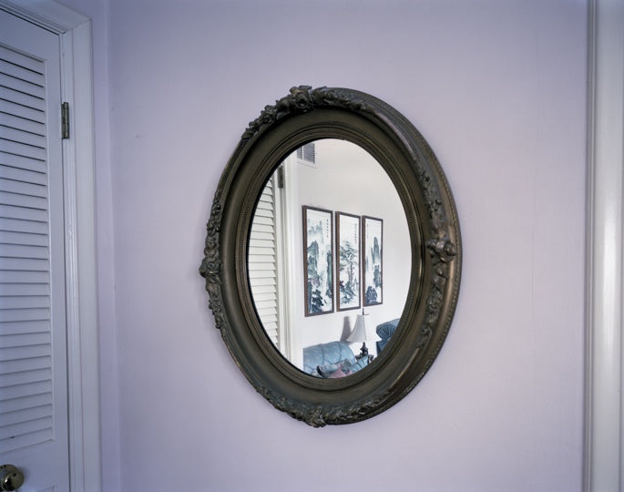 Oval mirror(806263117006) photography by David Johnson