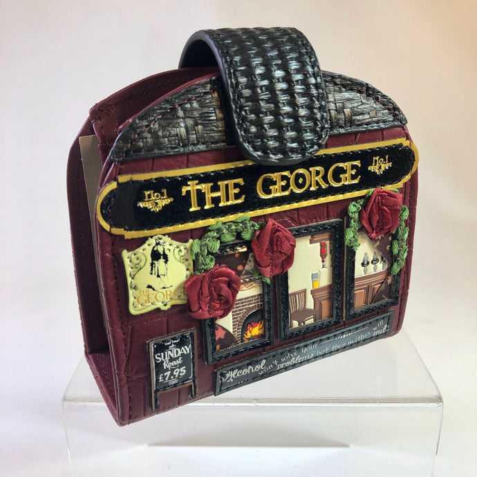 The George Clipper Coin and Card Wallet by Vendula of London