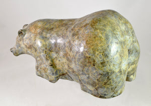 "Beige Marble-finish ""Big Butt"" by Kathy Callaway"
