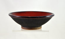 Load image into Gallery viewer, Gray Angle Bowls with Red by Roy Brown