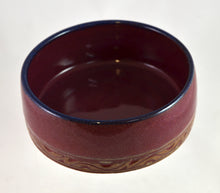Load image into Gallery viewer, Straight sided red bowls by Roy Brown