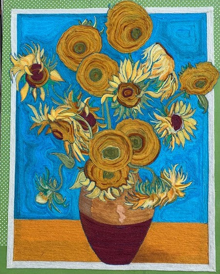 Altered Antiquity: Van Gogh's Sunflowers by Kaytha Coker Potts