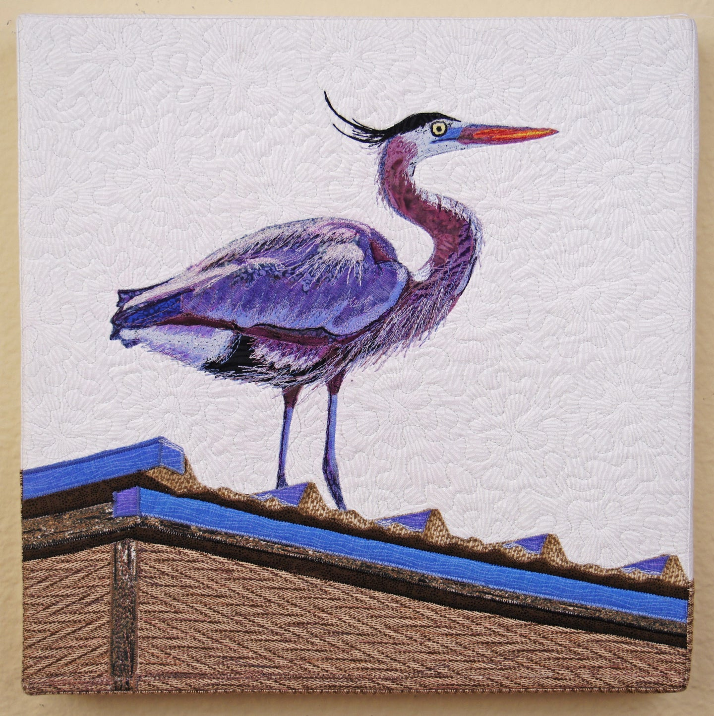 My Blue Heron by Sara Sharp