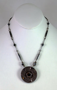 Large Pentagon NSB Necklace by Cynthia Bloom