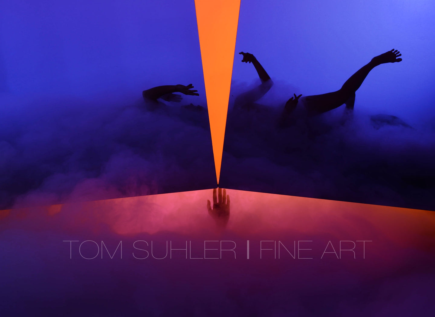 Fractured Series (small, matted) #4 by Tom Suhler
