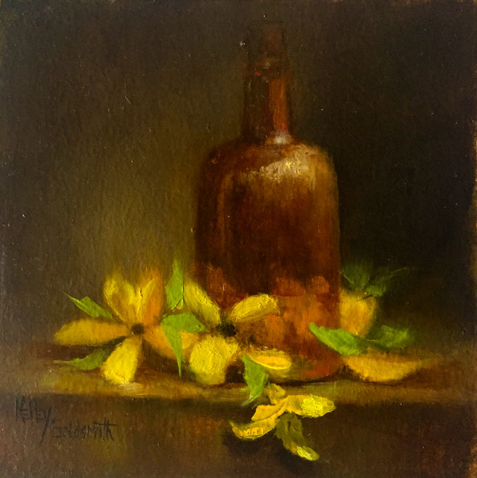 Forsythia by Kelley Goldsmith