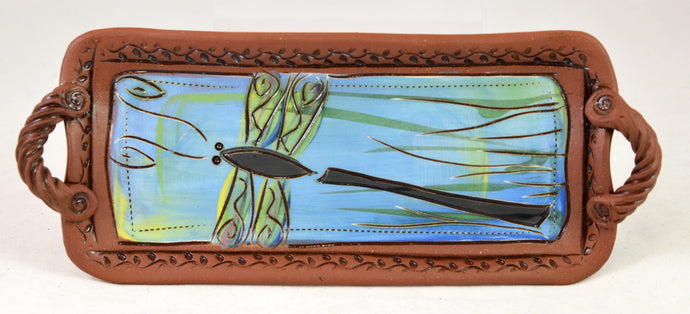 Dragonfly Tray by Jennifer Stas