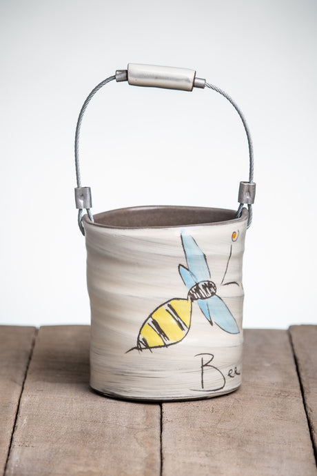 Bee the Change Small Bucket by ZPots