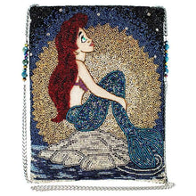 "Load image into Gallery viewer, ""Ariel at Sea"" Handbag by Mary Frances"