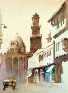 Qalawun Mosque print by Kathleen Stafford