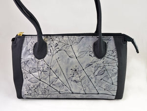 Diana Purse (gray) by Leaf Leather