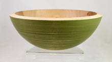 Load image into Gallery viewer, Bowl (medium, maple, green) by Mark Gardner