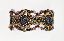 "Load image into Gallery viewer, ""Baby Noir"" Double/Reversible Bracelet (large) by Renate Kasper"