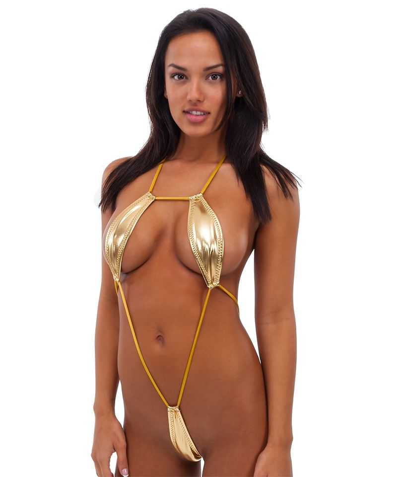 Joan Super Sexy Sheer Micro G-string Monokini