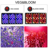 BESTVA Elite 2000W COB Epistar LED Chips LED Grow Light Full Spectrum for Greenhouse Hydroponic Indoor Plants Veg and Flower - BESTVALED