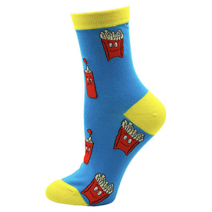 Fast Food Fries Novelty Socks - noveltysocks