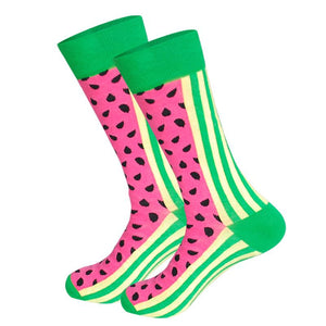 Watermelon Novelty Socks - noveltysocks