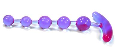 Anchors Away Anal Beads - Lavender