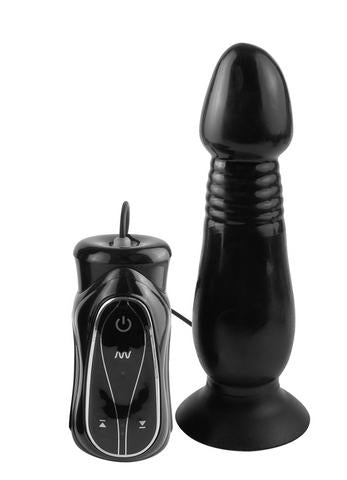Anal Fantasy Collection Vibrating Thruster - Black