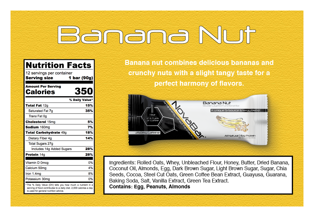 Banana Nut - 12 Pack