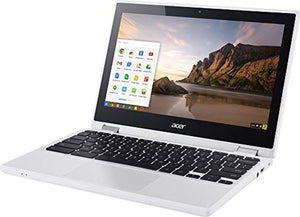 "Acer R11 11.6"" Convertible HD IPS Touchscreen Chromebook, Intel Celeron Dual Core up to 2.48GHz, 4GB RAM, 16GB SSD, 802.11ac, Bluetooth, HDMI, USB 3.0, Webcam, Chrome OS (Certified Refurbished)"