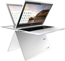 "Load image into Gallery viewer, Acer R11 11.6"" Convertible HD IPS Touchscreen Chromebook, Intel Celeron Dual Core up to 2.48GHz, 4GB RAM, 16GB SSD, 802.11ac, Bluetooth, HDMI, USB 3.0, Webcam, Chrome OS (Certified Refurbished)"