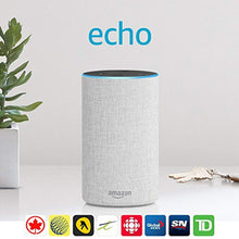 Load image into Gallery viewer, Echo (2nd Generation) - Smart speaker with Alexa - Sandstone Fabric