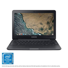 "Load image into Gallery viewer, Samsung Chromebook 3, 11.6"", 4GB RAM, 16GB eMMC, Chromebook (XE500C13-K04US)"
