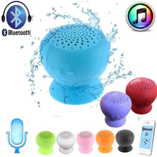 Load image into Gallery viewer, Waterproof Wireless Bluetooth Handsfree Suction Speaker Shower Car + mic bluetooth microphone bluetooth music receiver