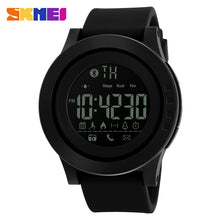 Load image into Gallery viewer, SKMEI 1255 Men Women Bluetooth Smart Watch Calorie Pedometer For Apple IOS Android Hours  50M Waterproof Digital Mens SmartWatch