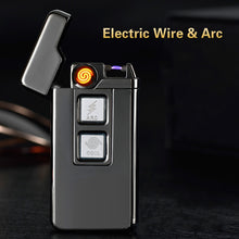 Load image into Gallery viewer, Usb Charge Tesla Coil & Arc Lighter USB Electronic Lighters