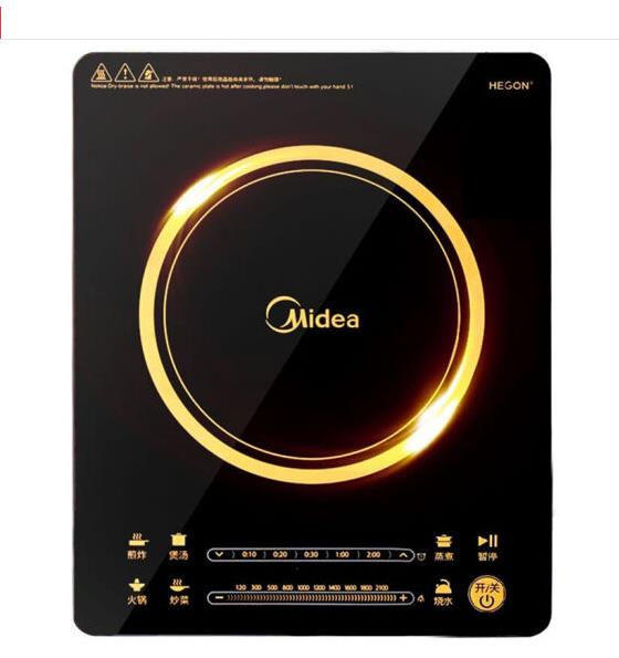Midea Electric Magnetic Induction Cookers Multifunctional Electric Cooker 220V RH2114
