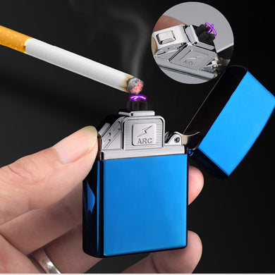 2018 Brand New USB Electronic Lighter Dual Arc