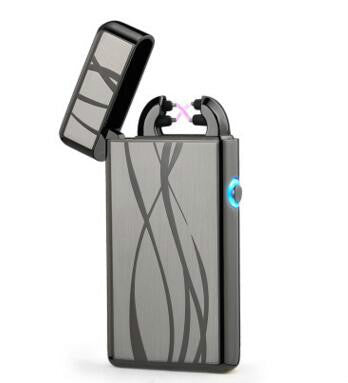 Electronic Usb charging double arc eletronic lighters
