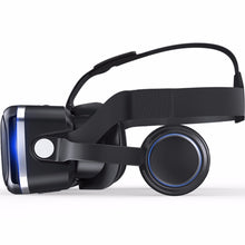 Load image into Gallery viewer, SOONHUA 3D VR Headset Virtual Helmet Virtual Reality VR Glasses 360 Panoramic Vision Hifi Stereo Sound for 4-6' Mobile Phone