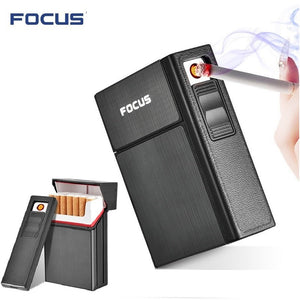 Removable USB Electronic Windproof Lighter