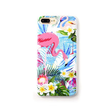 Load image into Gallery viewer, YiKELO Phone Case for iPhone X 6 6s 7 8 Plus Cactus Plants Silicon Cover